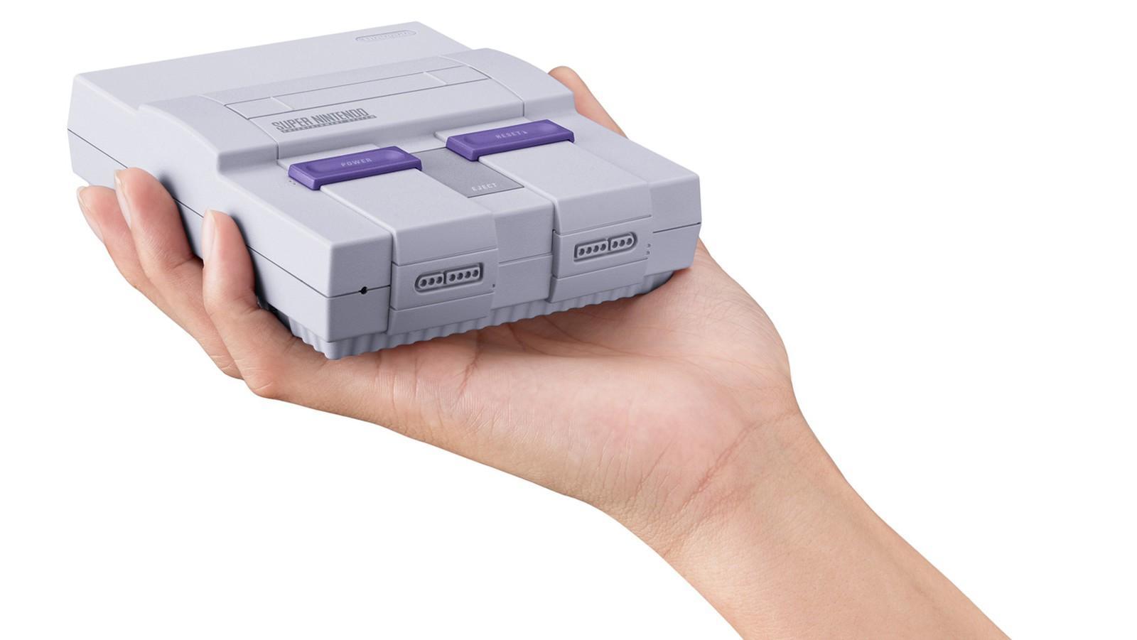 Super Nintendo será relançado em setembro com 21 jogos na memória