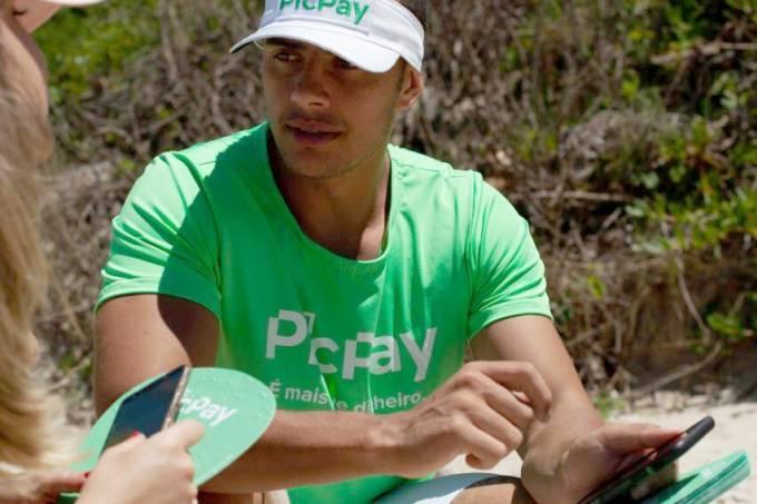 PicPay dá desconto aos vendedores e devolve dinheiro de clientes em praias